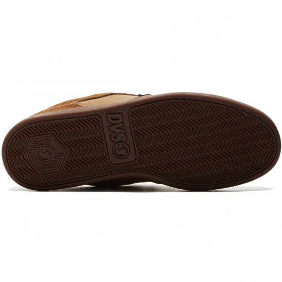 DVS Quentin Shoes - Brown/Gum/Suede - 8.0