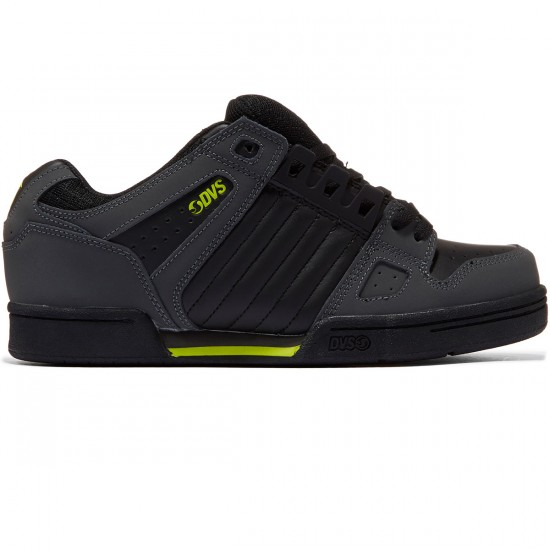 DVS Celsius Shoes - Grey/Grey/Lime/Nubuck - 8.0