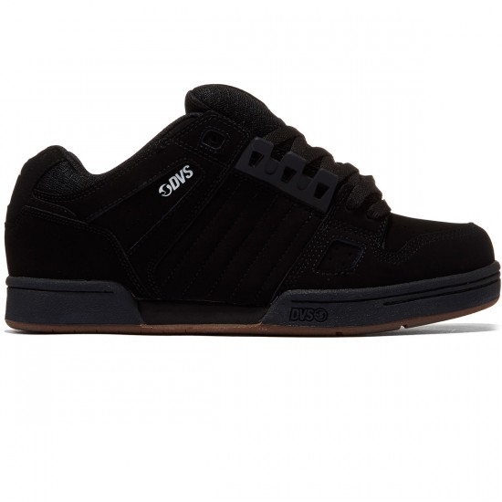 DVS Celsius Shoes - Black/Gum/White/Nubuck - 8.0