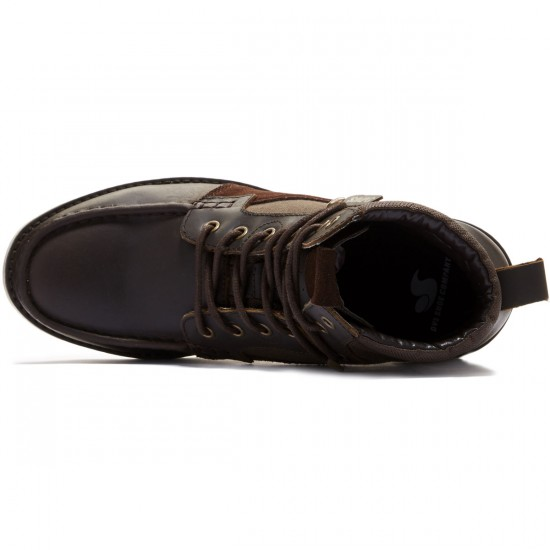 DVS Bishop Shoes - Brown Leather - 8.0