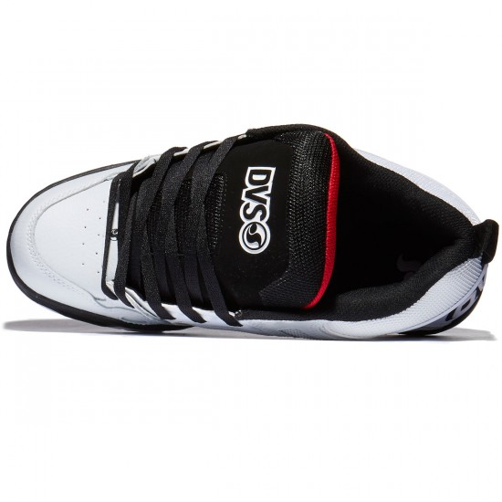 DVS Comanche Shoes - White/Black/Red - 10.0