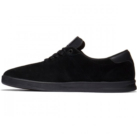 DVS Rico SC Shoes - Black Suede Chico - 10.0