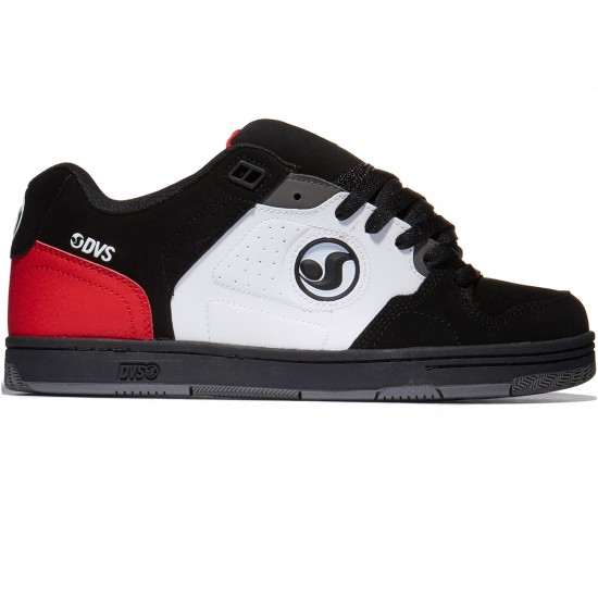 DVS Discord Shoes - Black/White/Red - 10.0