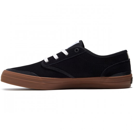 DVS X Enjoi Wallin Cedar Shoes - Black Suede - 8.0