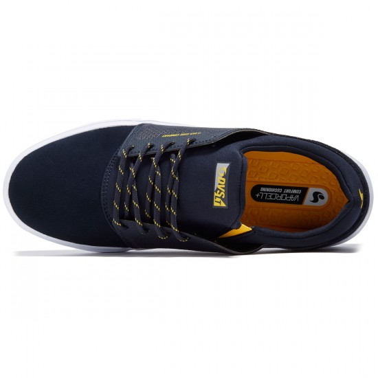 DVS Stratos LT Shoes - Navy Mesh/Spenco - 8.0