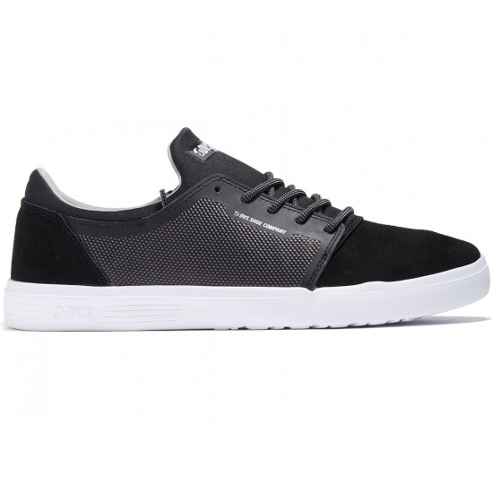 DVS Stratos LT Shoes - Black Woven - 8.0