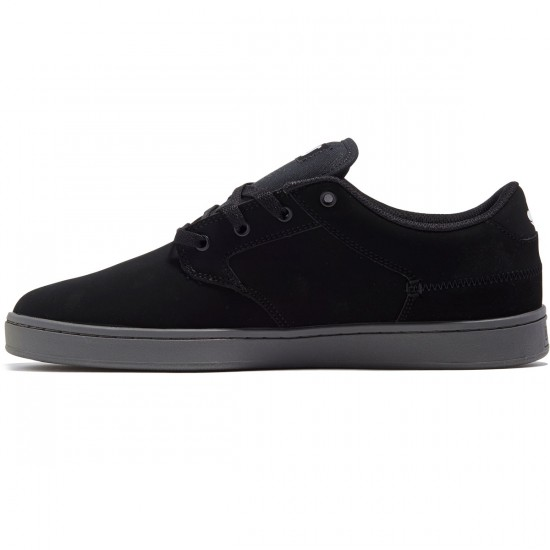 DVS Quentin Shoes - Black Nubuck/Grey