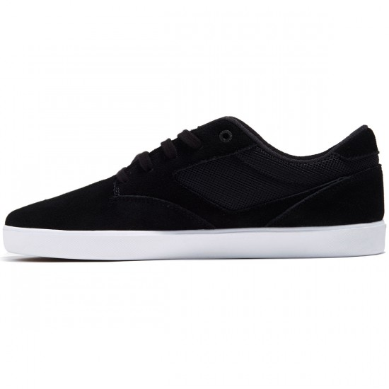 DVS Pressure SC Shoes - Black Suede/Mesh Chino - 8.0
