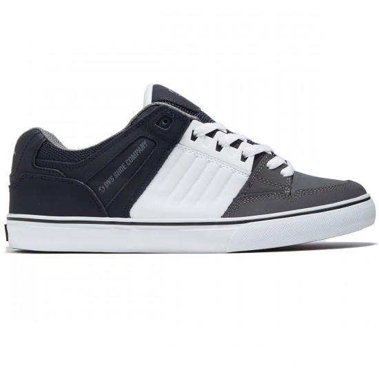 DVS Celsius CT Shoes - Navy/White/Charcoal Leather - 8.0