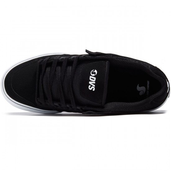 DVS Celsius CT Shoes - Black Leather Nubuck - 8.0