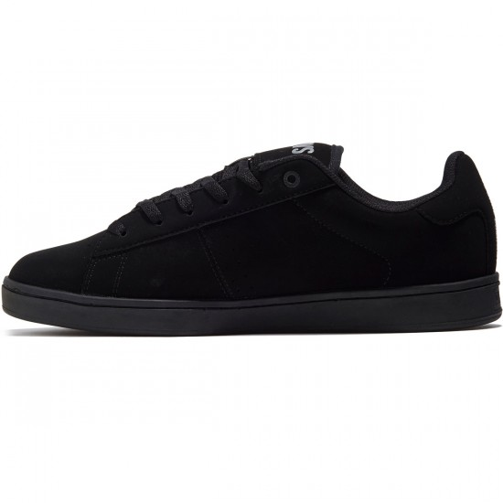 DVS Revival 2 Shoes - Black/Black Leather Nubuck