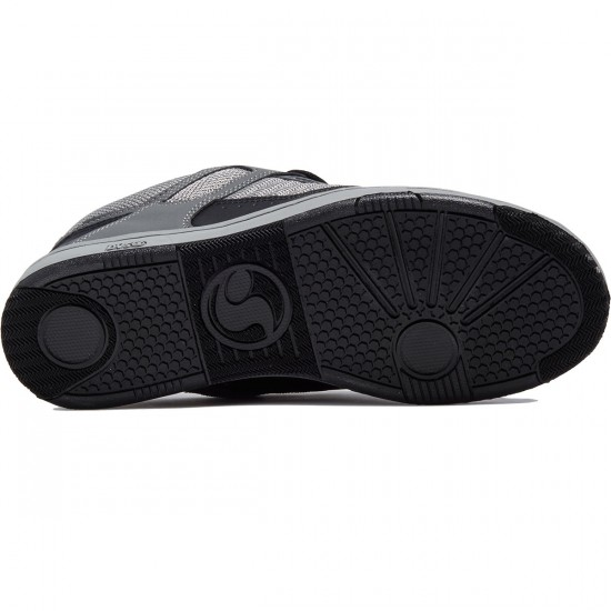 DVS Enduro 125 Shoes - Black/Grey Leather Nubuck Deegan - 8.0