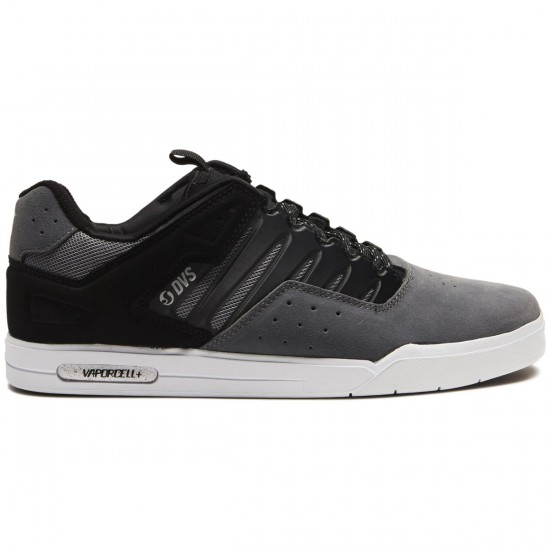 DVS Drop Plus Shoes - Charcoal Grey Suede - 10.0