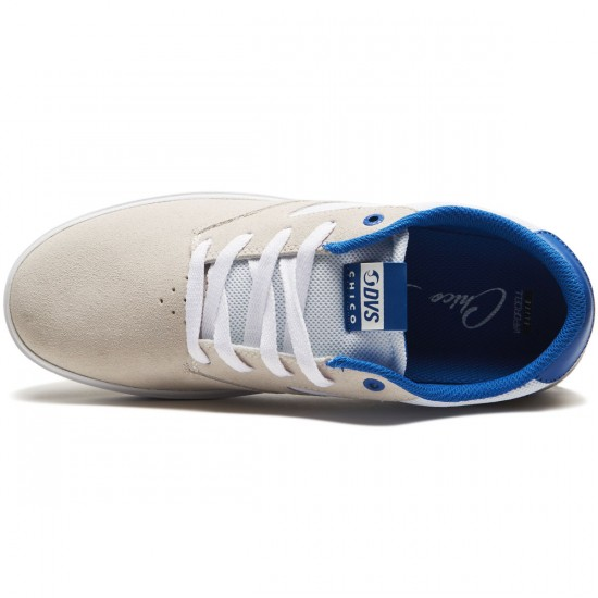 DVS Pressure SC Plus Shoes - White Suede