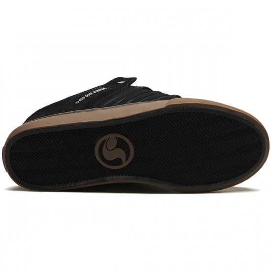 DVS Celsius CT Shoes - Black Nubuck - 8.5