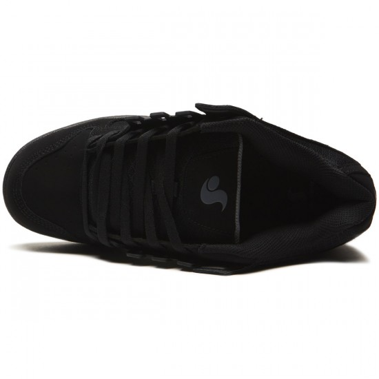 DVS Celsius Shoes - Black/Black Nubuck - 8.0
