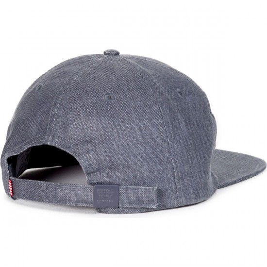 Herschel Albert Hat - Hemp Navy