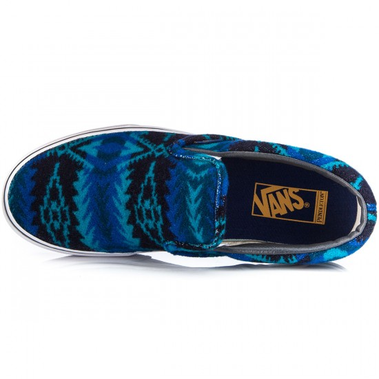 Vans X Pendleton Classic Slip On Shoes - Tribal/Asphalt - 5.0