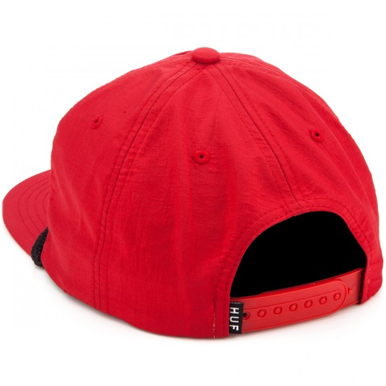 HUF X Thrasher Collab Logo Hat - Red