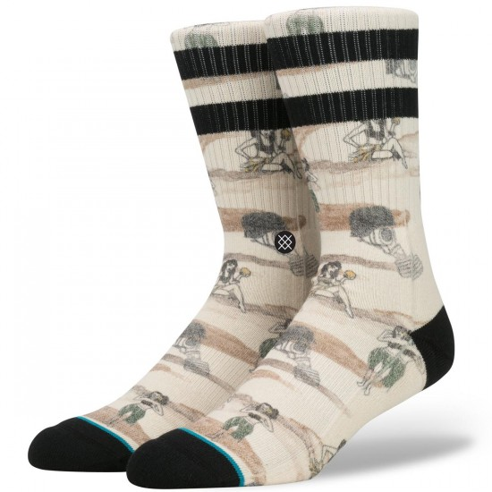 Stance Hickman Socks - Off White