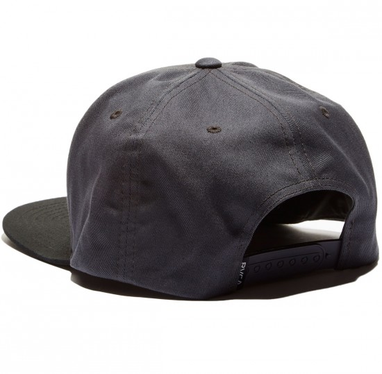 RVCA VA Snapack II Hat - Black/Yellow
