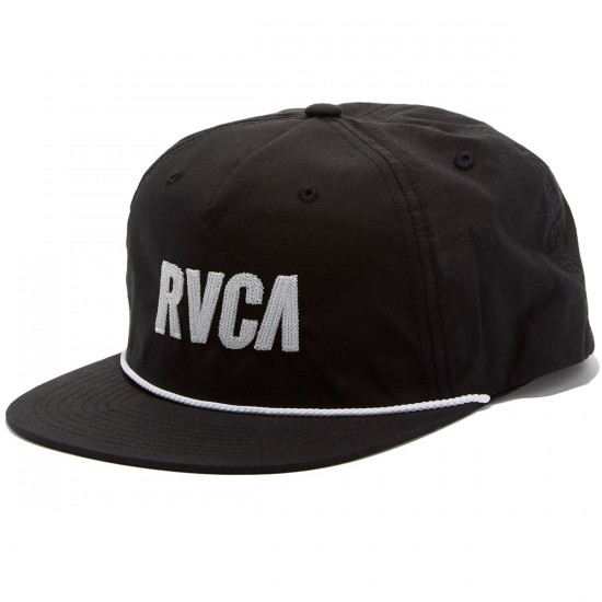 RVCA Jagged Five Panel Hat - Black