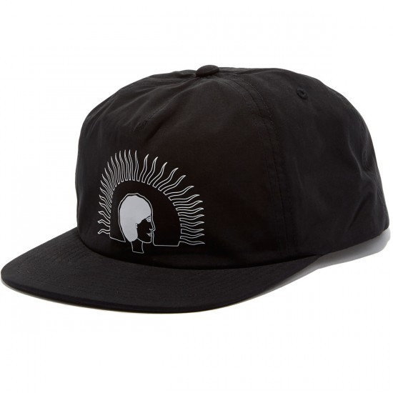 RVCA Mark Alsweiler Five Panel Hat - Black