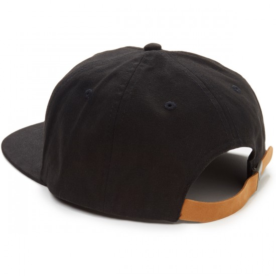 RVCA Shakes Five Panel Hat - Black