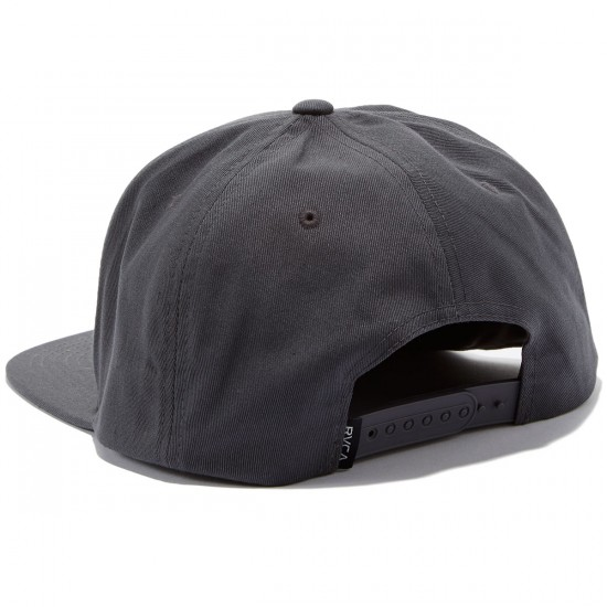 RVCA Shelter Five Panel Hat - Dark Grey