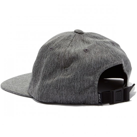 RVCA Sile Five Panel Hat - Charcoal Heather