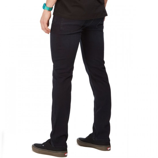 RVCA Hexed Jeans - Blue Black - 30 - 32