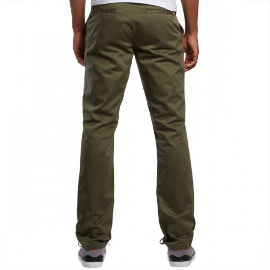 RVCA The Week-End Pants - Leaf - 30 - 32