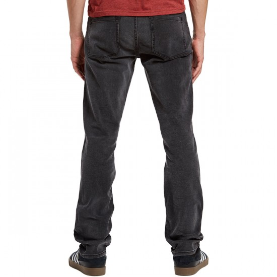 RVCA Daggers Denim Pants - Graphite - 30 - 32