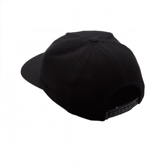 RVCA Tonie Snapback Hat - Black