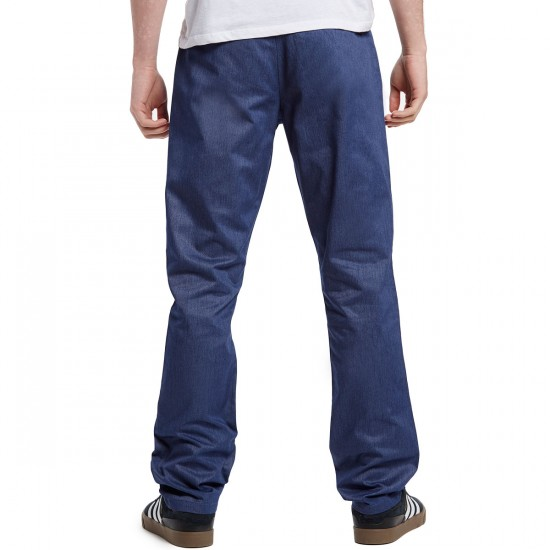 RVCA The Week-End Pants - Federal Blue Heather - 30 - 32