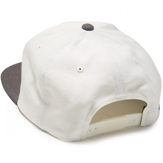 RVCA Twill Snapback Hat - Off White