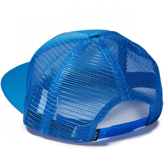 RVCA Foamy Trucker Hat - Acid Blue