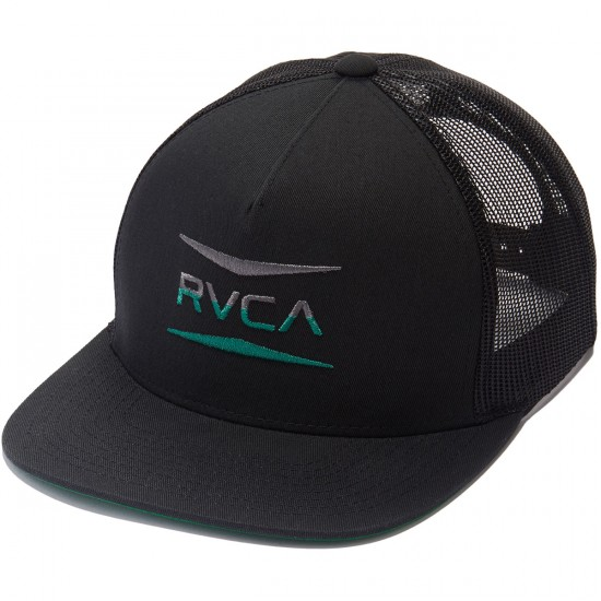RVCA Points Trucker Hat - Black