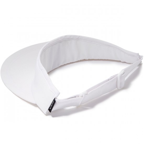RVCA Poolside Visor Hat - Off White