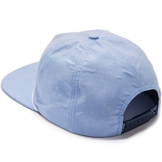 RVCA Palmz Snapback Hat - Light Blue