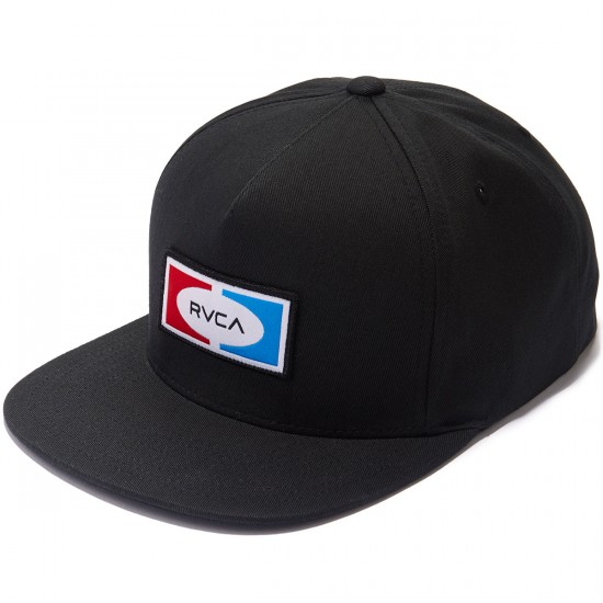 RVCA Breez Snapback Hat - Black