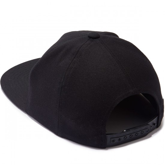 RVCA Sea Drift Snapback Hat - Black