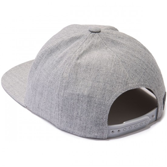 RVCA Sea Drift Snapback Hat - Grey Heather