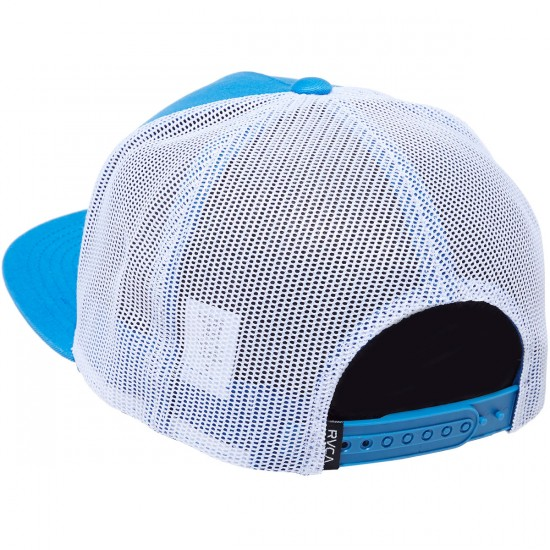 RVCA VA All The Way Trucker Hat - Light Blue