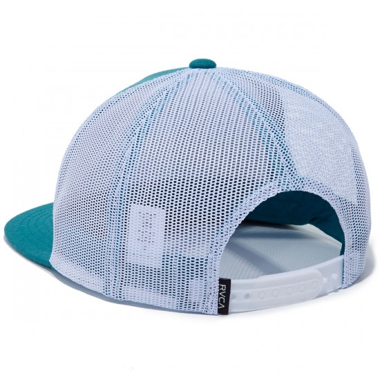 RVCA VA All The Way Trucker Hat - Teal