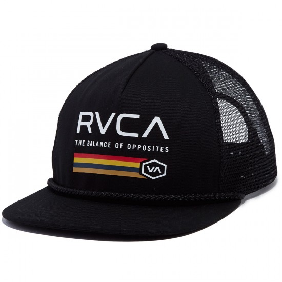 RVCA Caserma Trucker Hat - Black
