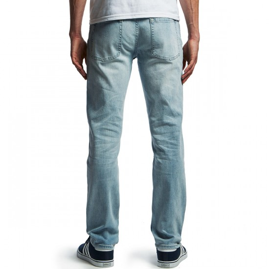 RVCA Daggers Denim Pants - Sea Bleach - 29 - 32