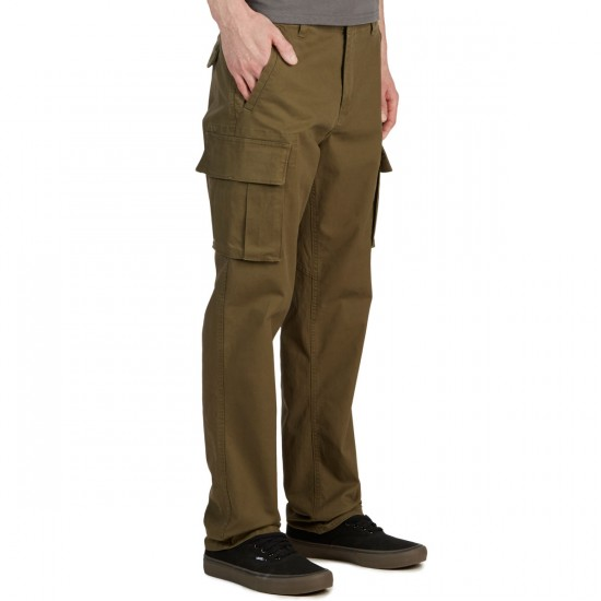 RVCA Stay RVCA Cargo Pants - Burnt Olive