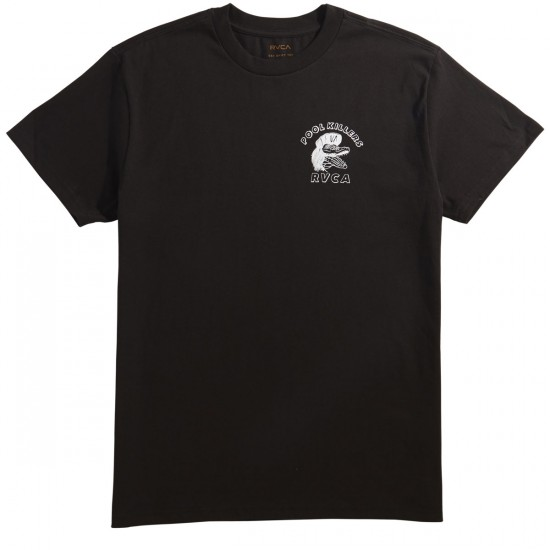 RVCA Pool Killers T-Shirt - Black