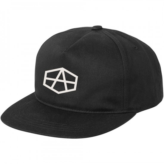 RVCA Reynolds USA Snapback Hat - Black